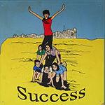 success text image